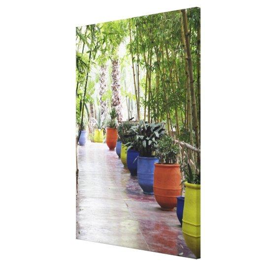 Jardin Majorelle, Majorelle Garden, now a public Canvas Print