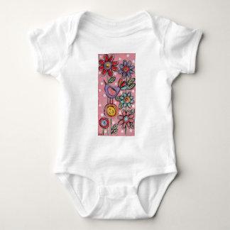 Jardín minúsculo #12 body para bebé