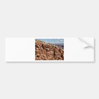 jardín Moab Utah de los diablos Etiqueta De Parachoque