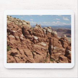 jardín Moab Utah de los diablos Alfombrilla De Ratón