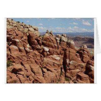 jardín Moab Utah de los diablos Felicitaciones