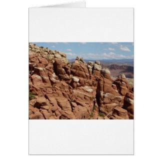 jardín Moab Utah de los diablos Tarjetón