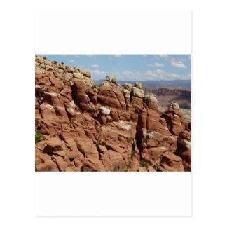 jardín Moab Utah de los diablos Postal
