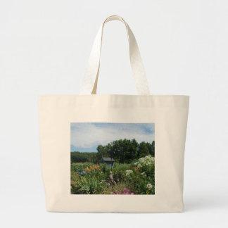Jardín ocultado bolsa tela grande