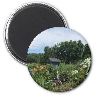 Jardín ocultado imán redondo 5 cm