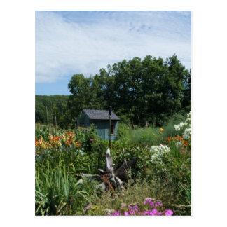 Jardín ocultado postales