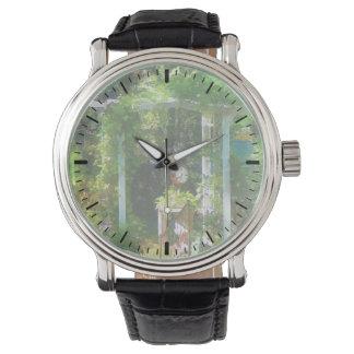 Jardín ocultado relojes de mano