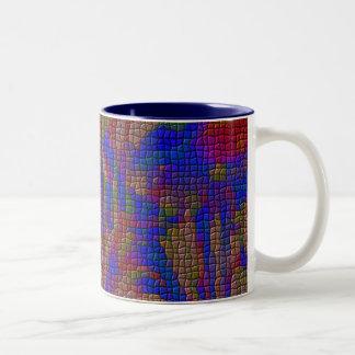 jardín oscuro taza de café