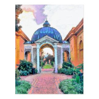 Jardín, parque de la ciudad, New Orleans Tarjetas Postales