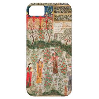 Jardín persa, siglo XV (w/c en el papel) iPhone 5 Case-Mate Cárcasa