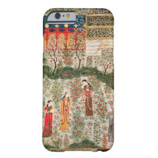 Jardín persa, siglo XV (w/c en el papel) Funda De iPhone 6 Barely There
