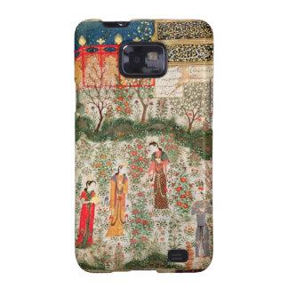 Jardín persa, siglo XV (w/c en el papel) Samsung Galaxy S2 Funda