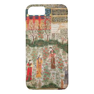 Jardín persa, siglo XV (w/c en el papel) Funda iPhone 7