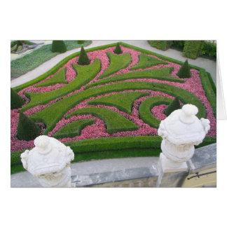 Jardín Praga de Vrtba Tarjeta De Felicitación