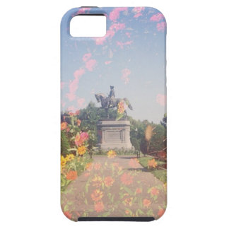 Jardín público de Boston iPhone 5 Case-Mate Carcasas