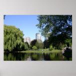 Jardín público de Boston Impresiones
