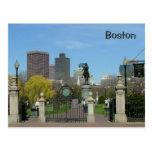 Jardín público postales