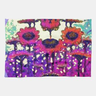 Jardín púrpura de la luna del girasol del cordón p