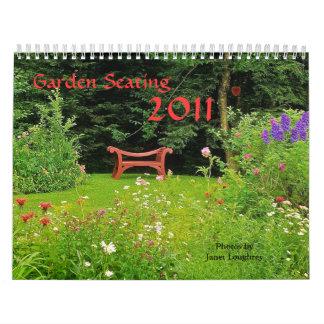 Jardín que asienta el calendario 2011