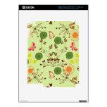 Jardín retro banal iPad 3 skin