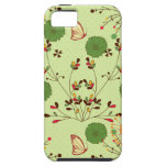 Jardín retro banal iPhone 5 protectores