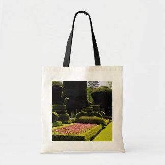 Jardín rojo del Topiary, Levens Pasillo, Cumbria,  Bolsas De Mano