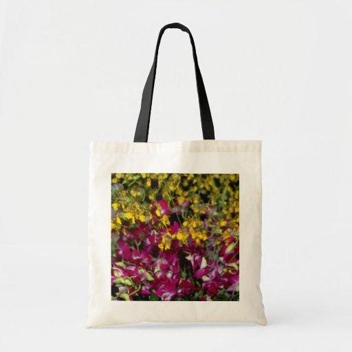 Jardín rosado de orquídeas - Dendrobium y Oncidium Bolsa Tela Barata