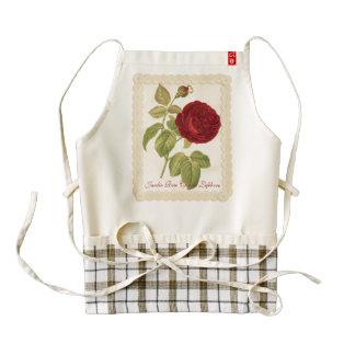 Jardin Rose Charles Lefebvre Zazzle HEART Apron