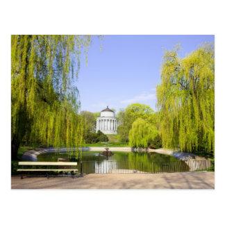 Jardín sajón en Varsovia Tarjeta Postal