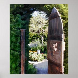 Jardín secreto poster