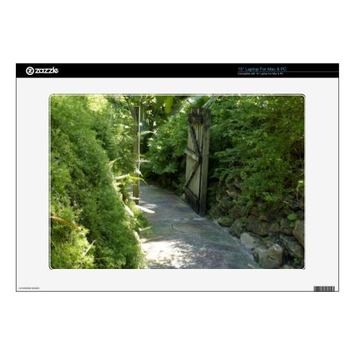Jardín secreto skins para 38,1cm portátiles
