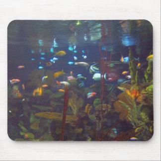 Jardín subacuático tapetes de raton