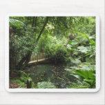 Jardín subtropical tapete de raton
