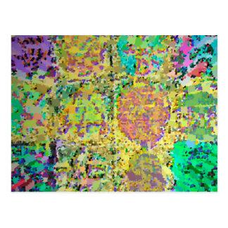 Jardín verde - 12 muestras ocultadas V3 de Reiki Postales