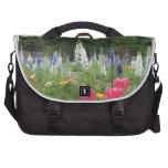 Jardín vivo - bolso del viajero bolsas de portátil