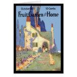 Jardín y hogar de la fruta felicitacion