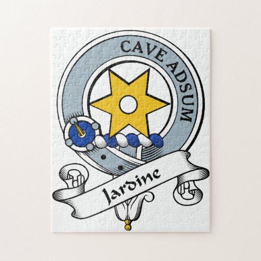 Jardine Clan Badge Jigsaw Puzzle