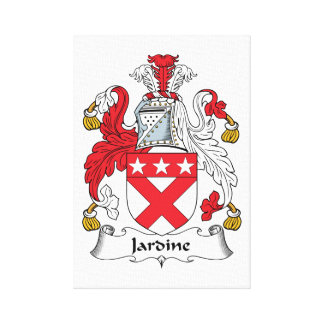 Jardine Family Crest Gallery Wrapped Canvas