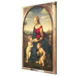Jardinera de la belleza del La, 1507 Impresión En Lona