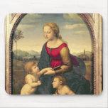 Jardinera de la belleza del La, 1507 Tapete De Ratones