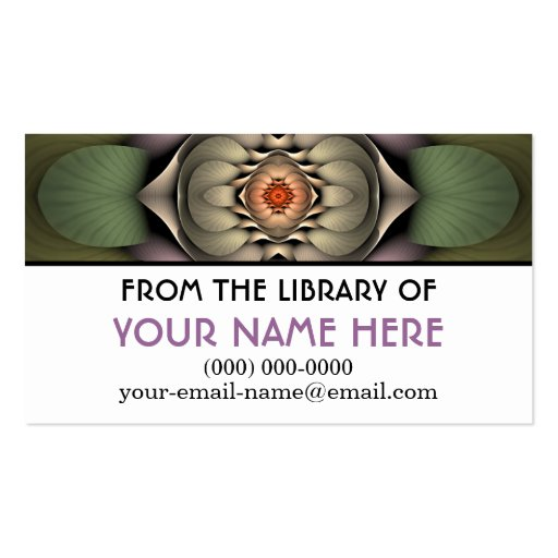 Jardinere Personalized Media Card Business Cards
