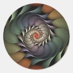Jardinere Round Stickers