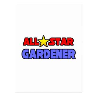 Jardinero de All Star Tarjetas Postales
