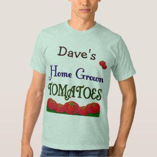 Jardinero de encargo de los tomates de cosecha playeras