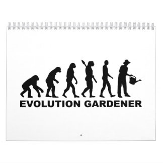 Jardinero de la evolución calendario