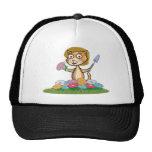 Jardinero de la flor del gato gorras