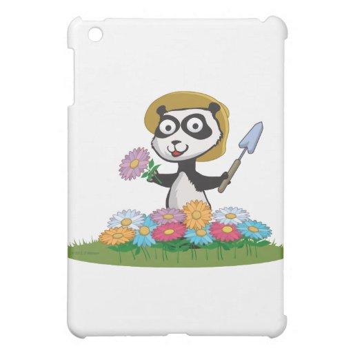 Jardinero de la flor del oso de panda