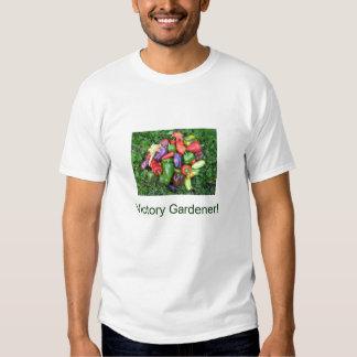 ¡Jardinero de la victoria de las PIMIENTAS! Remeras