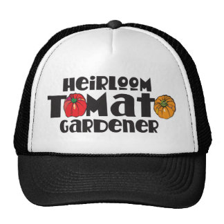 Jardinero del tomate de la herencia gorras