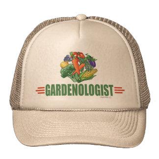 Jardinero divertido gorras de camionero